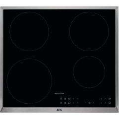 Aeg Ikb64301xb Induction Hob  Adjustable Timer,Clean As You Cook, Power Boost Button,
