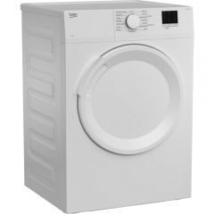 Beko DTLV70041W 7kg Vented Tumble Dryer - White - C Energy Rated