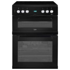 Beko EDC633K 36L 69L W:60 Double Oven Fan Ceramic