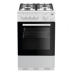 Beko ESG50W 50Cm Single Cavity Gas Cooker
