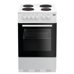 Beko ESP50W 50Cm Single Oven Solid Plate