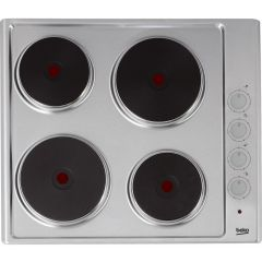 Beko Hize64101x - Stainless Steel - Solid Plate Hob - H7.1 W58 D51