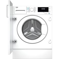 Beko WDIK752121F 7Kg/5Kg 1200 Spin Built In Washer Dryer - White - E Energy Rated