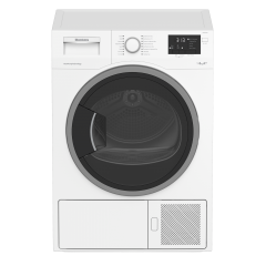 Blomberg Ltp2832w Tumble Dryer  A++ Rated, Heat Pump,Large Porthole Door,Automatic Anti