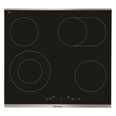 Blomberg MKN54322X 60Cm Touch Control Ceramic Hob - Stainless Steel Trim