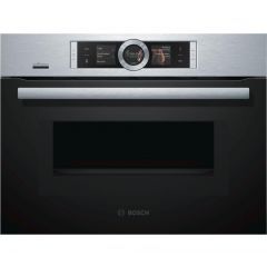 Bosch CMG656BS6B Compact Oven With M/W