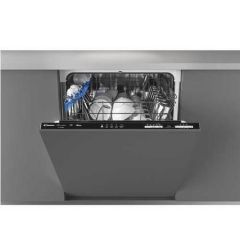 Candy CRIN1L380PB Integrated Full Size Dishwasher - Black Bezel - A+ Energy Rated