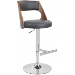 Df Sales RIMINI-STD Black/Wood Seat