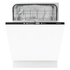 Hisense HV651D60UK Integrated Full Size Dishwasher - White - D Energy Rated