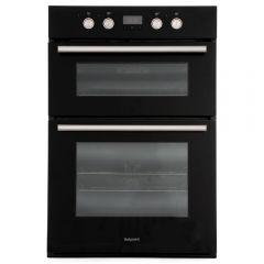 Hotpoint DD2844CBL Multi Functional 2 Grill Double Oven