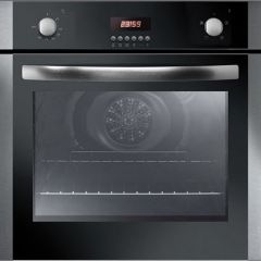Iberna IBO605X/E Single Fan Oven With Timer