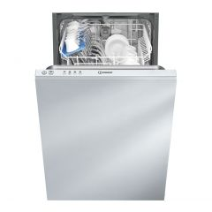 Indesit DSIE2B10 Slimline Integrated Dishwasher 10 Place Settings 11.5L 51Db