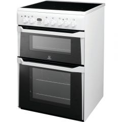 Indesit ID60C2W W:60 DOUBLE OVEN FAN CERAMIC