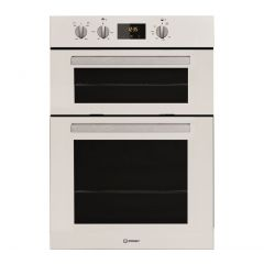 Indesit IDD6340WH B/In Double Oven