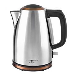 Kalorik JK45727 Kitchen Originals Classic 1.7L Stainless Steel & Copper Kettle