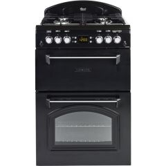 Leisure CLA60GAK BLACK Gas Black Mini Range Cooker