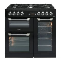 Leisure CS90F530K 90Cm Dual Fuel Range Cooker Black