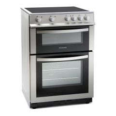 Montpellier MDC600FS 60Cm Silver Double Oven
