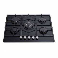 Montpellier MGH75BG 75Cm Gas On Glass Cast Iron