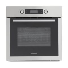 Montpellier Sfo72x Built In Single Fan Oven With Timer Stainless Steel