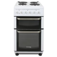 Montpellier TCE51W 50Cm Twin Cavity Cooker With Solid Plates