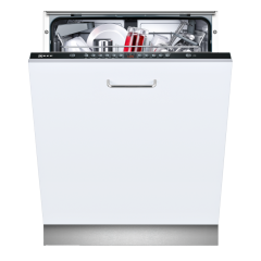 Neff S513G60X0G Built In Dishwasher - Stainless Steel - E Energy Rating