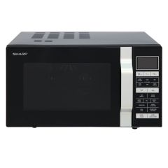 Sharp R860KM BLACK Flat Bed Combi Microwave
