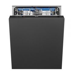 Smeg DI13EF2 Integrated Full Size Dishwasher - Black - F Energy Rated