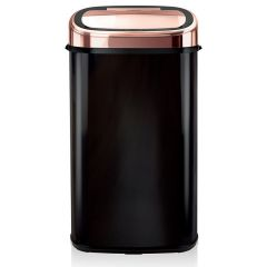 Tower T80904RB Sensor Bin - Black & Rose Gold -58L