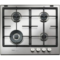 Whirlpool GMF 6422/IXL 60Cm Gas Hob Stainless Steel