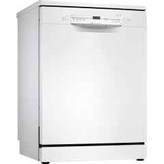 Bosch SGS2ITW08G Full Size Dishwasher - White - 12 Place Settings