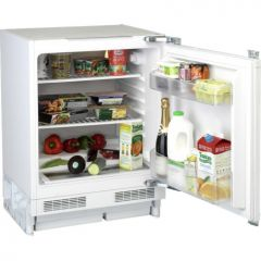 Flavel Flu150ap 60Cm Integrated Undercounter Larder Fridge - White - A+ Energy Rated