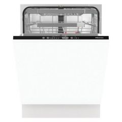 Hisense HV671C60UK Integrated Full Size Dishwasher - White - A+++ Energy Rated