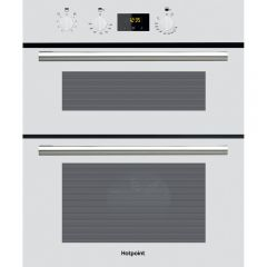 Hotpoint DU2540WH Main Oven Capacity: 59 Litres Second: 37 Litres