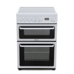Hotpoint HAE60PS 60Cm White Ceramic Double Oven