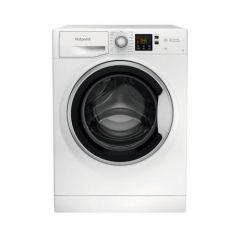 Hotpoint Nswe742uwsukn 7Kg 1400 Spin - White - H85 W59.5 D54