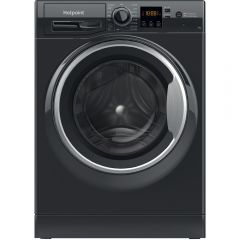 Hotpoint Nswf742ubsukn 7Kg 1400 Spin - Black - H85 W59.5 D54