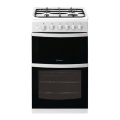 Indesit ID5G00KCW 50Cm Twin Cavity Cooker