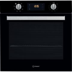 Indesit Ifw6340bluk  - Black Single Oven