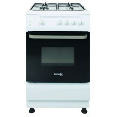 Montpellier SCG60W 60Cm Single Cavity Gas Cooker