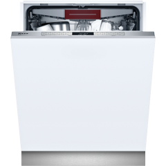 Neff S155hvx15g Integrated Full Size Dishwasher - Top Rack - 13 Place Setting - E Rated
