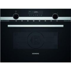 Siemens CM585AGS0B Built In Compact M/W And Oven