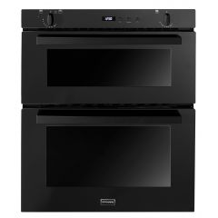 Stoves SGB700PS BL Built Under Double Oven Black